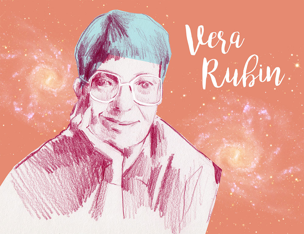 International Day of Women and Girls in Science. Vera Rubin